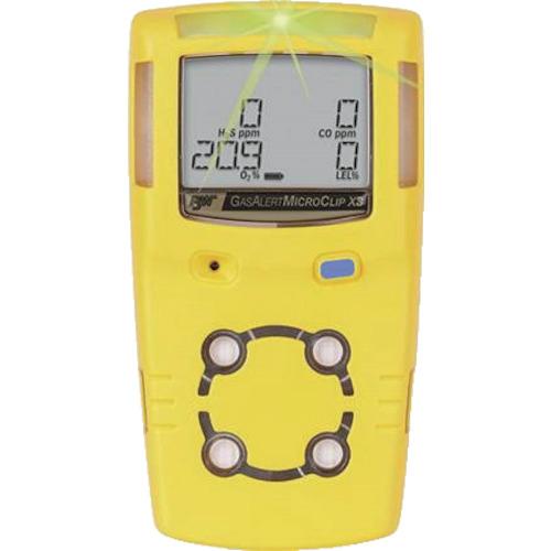 RAE(レイシステムズ) ガス検知器 ガスアラート・マイクロクリップX3 1個 MCX3-XWHM-Y-NA