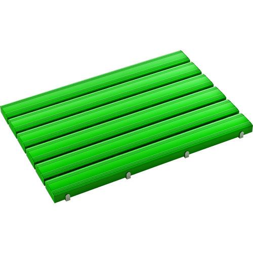 【直送】【代引不可】テラモト 抗菌安全スノコ(完成品)600×900緑 MR-093-341-1