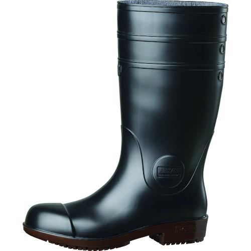 ミドリ安全 超耐滑先芯入り長靴 ハイグリップ NHG1000スーパー ブラック 27.0cm 1足 NHG1000SP-BK-27.0