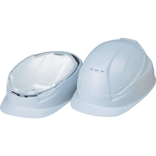 トーヨーセフティ TOYO 作業用防災用折りたたみヘルメットBLOOM3 MOVO 白 1個 NO.105-WH