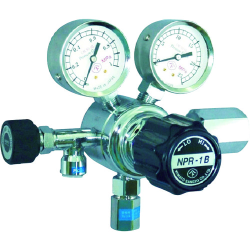 ヤマト 分析機用圧力調整器 NPR-1B 1個 NPR-1B-R-12N01-2210-F-H2