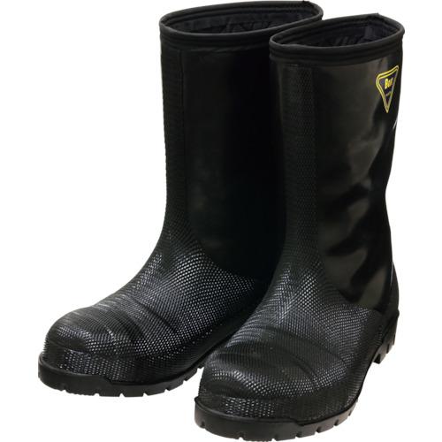 シバタ工業 冷蔵庫用長靴-40℃ NR041 30.0 ブラック 1足 NR041-30.0