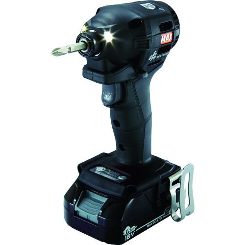 MAX(マックス) 18V充電インパクトドライバセット 黒 2.5Ah 1台 PJ-ID152K-B2C/1825A