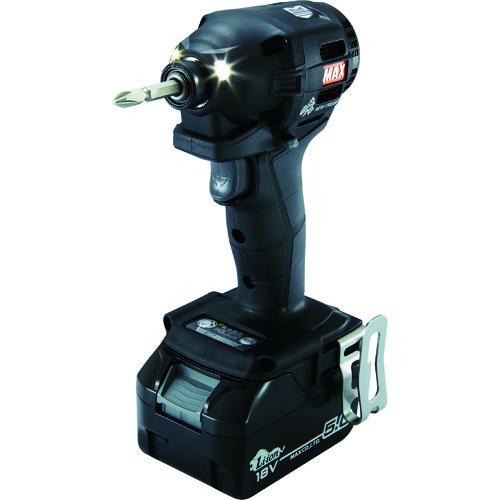 【セール期間中ポイント2~5倍!】MAX(マックス) 18V充電インパクトドライバセット 黒 5.0Ah 1台 PJ-ID152K-B2C/1850A