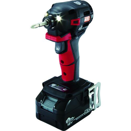 【セール期間中ポイント2~5倍!】MAX(マックス) 18V充電インパクトドライバセット 赤 5.0Ah 1台 PJ-ID152R-B2C/1850A