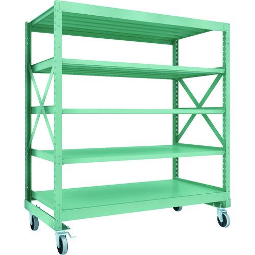 高い素材 【直送】【】 TRUSCO(トラスコ) R3型ボルト式中量棚W1800XD900XH2000 5段 150 TRUSCO(トラスコ) 150 5段 ウレタンキャスター付 R3-6695-U150, Deepinsideinc.Store:2c8e862e --- delivery.lasate.cl