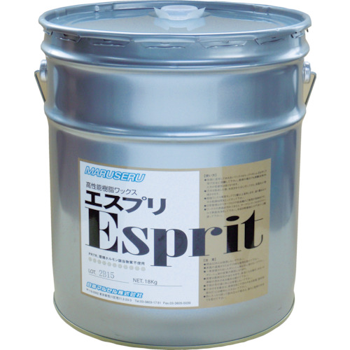 【直送】【代引不可】日本マルセル 樹脂ワックス ポリマートエスプリ 18L 0101002