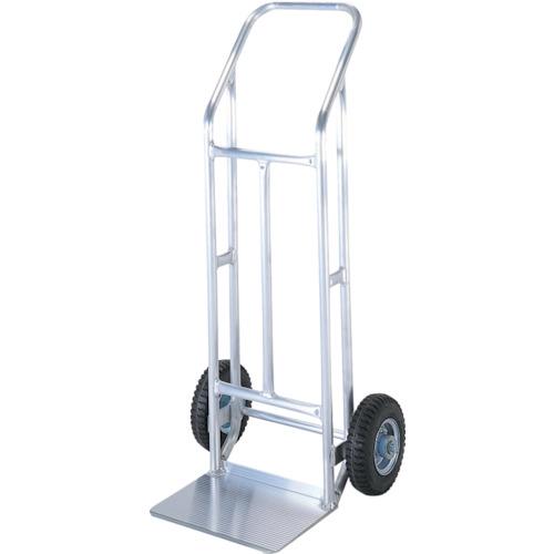 【直送】【代引不可】HONKO(本宏製作所) アルミ製二輪運搬車 外輪 全長1130mm 03102170