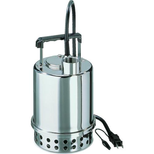【直送】【代引不可】エバラ(荏原製作所) ステンレス製水中ポンプ 自動 100L/min 全揚程6.5m 60Hz 100V 40P707A6.55S