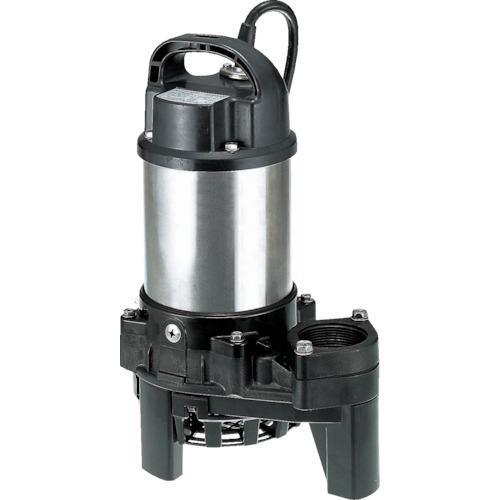 ツルミ(鶴見製作所) 樹脂製雑排水用水中ハイスピンポンプ 非自動 80L/min 全揚程6.5m 60HZ 100V 40PN2.25S 60HZ