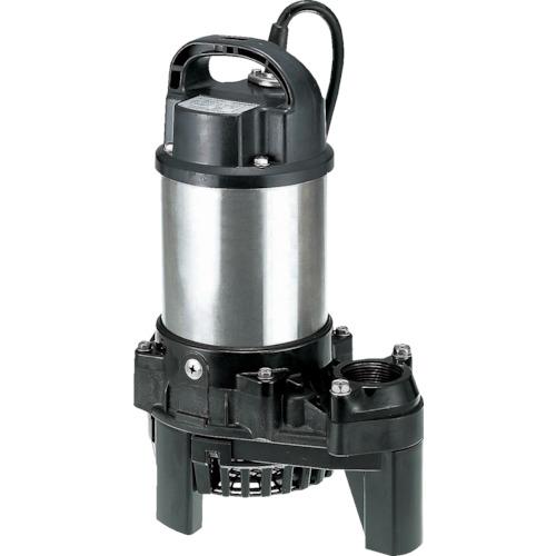 ツルミ(鶴見製作所) 樹脂製汚水用水中ポンプ 50L/min 全揚程10m 60HZ 100V 40PSF2.25S 60HZ