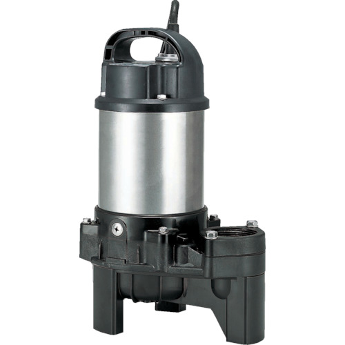 ツルミ(鶴見製作所) 樹脂製汚物用水中ハイスピンポンプ 非自動 100L/min 全揚程3.5m 60HZ 200V 40PU2.15 60HZ