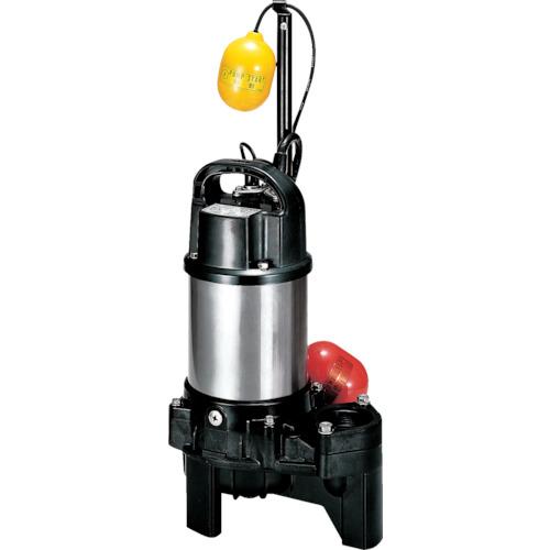 ツルミ(鶴見製作所) 樹脂製汚物用水中ハイスピンポンプ 自動 100L/min 全揚程3.5m 50Hz 100V 40PUA2.15S 50HZ