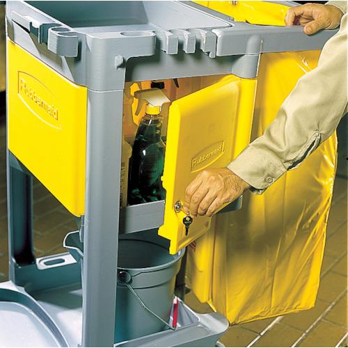 ラバーメイド ジャニターカート用 ロック付きキャビネットドアキット 1個 RM6181YL