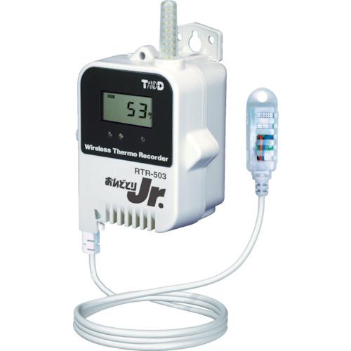 TANDD(おんどとり) ワイヤレスデータロガー 温度湿度タイプ(大容量バッテリータイプ) 1個 RTR-503L