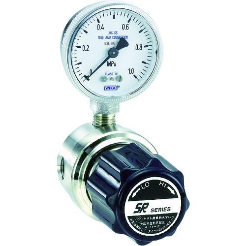 ヤマト 高純度ガスライン用圧力調整器 SR-1LL 1個 SR-1LL-R-G3-0101-0032-I-F