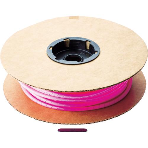 パンドウイット スパイラルラッピング ポリエチレン ピンク 1巻 T50F-C16