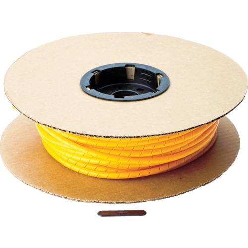 パンドウイット スパイラルラッピング ポリエチレン オレンジ 1巻 T50F-C3Y