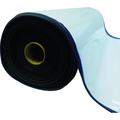 【直送】【代引不可】TRUSCO(トラスコ) EPDMスポンジロール テープ付 15mm厚 幅1000mmX10m 1巻 TAFLT-15-10100