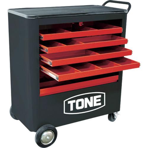 【直送】【代引不可】TONE(トネ) シャッター付ツールキャビン 1台 TC8001R