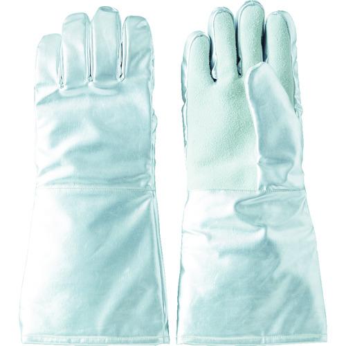 TRUSCO(トラスコ) 遮熱・耐熱手袋 手のひら牛床革補強付 1双 TMT-763FALT