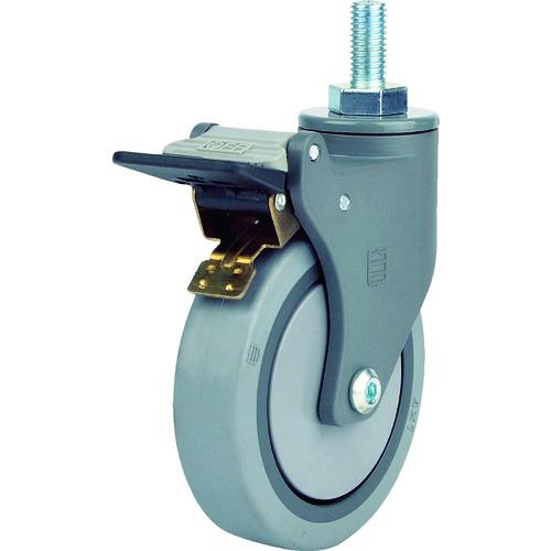 SAMSUNGCASTER 樹脂キャスター 自在SP付 エラストマー 100mm 96個 TP3840-21-MIR-TG-SWB