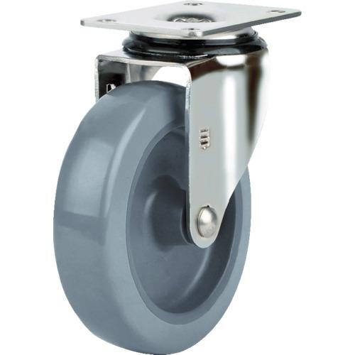 SAMSUNGCASTER ステンレスキャスター 自在 ウレタン 125mm 40個 TP5150-01-PLY