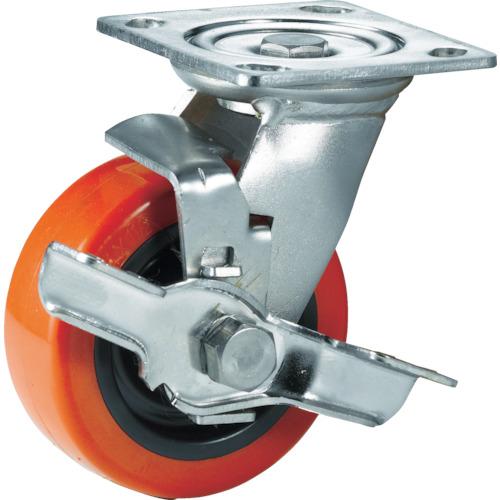 SAMSUNGCASTER ステンレスキャスター 自在SP付 ウレタン 150mm 30個 TP6360-01-PRO-TLB