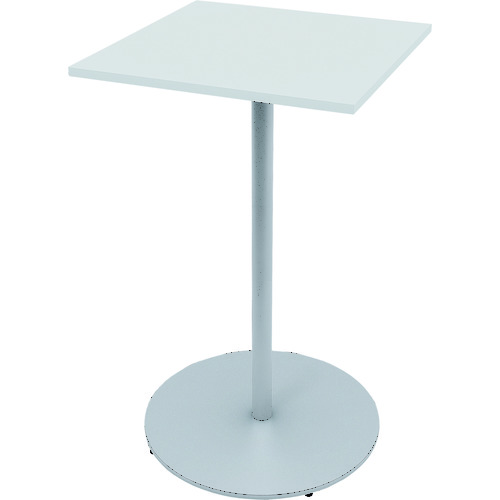 【直送】【代引不可】イトーキ ハイテーブル(角型) 600×600×1000 1台 TRA-066HH-W9W9