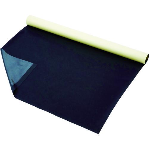 【直送】【代引不可】TRUSCO(トラスコ) プロテクトシート テープ付 黒 1500X1M 5枚入 紙管1本巻 U1-1500-BK