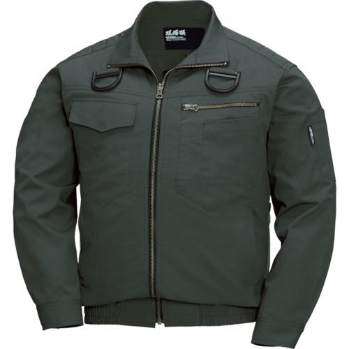 XEBEC(ジーベック) 空調服 綿薄手現場服ヘリンボンフルハーネス仕様空調服 1着 XE98102-62-5L