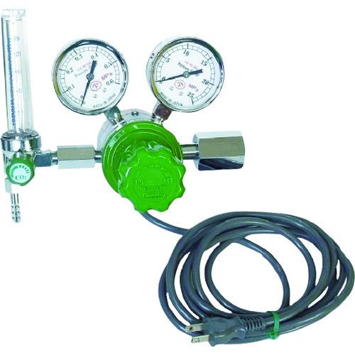 ヤマト ヒーター付圧力調整器 YR-507F-2 1個 YR-507F-2-11-CO2