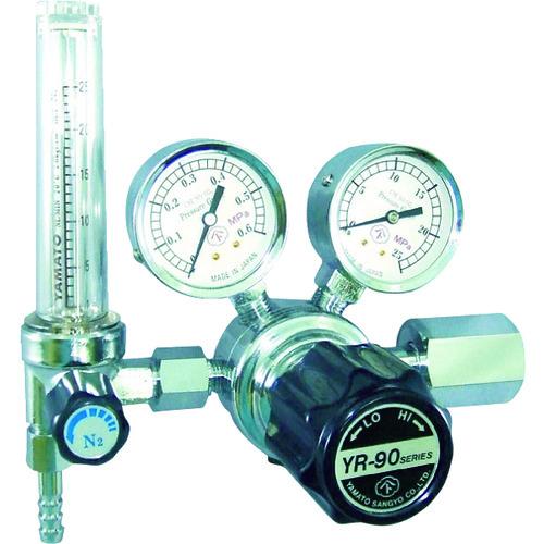 ヤマト 汎用小型圧力調整器 YR-90F(流量計付) 1個 YR-90F-R-11FS-25-O2-2205