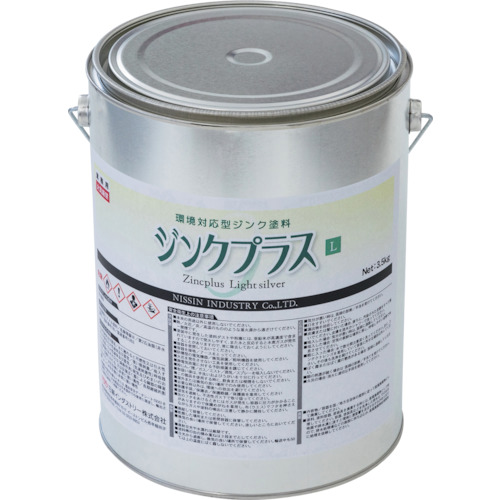 NIS(日新インダストリー) ジンクプラスL 3.5kg 1缶 ZL003