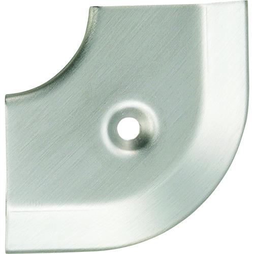ASSIST(アシスト) 床金物20-101LNヘの字押えコーナー ステンレス 出隅 43×43mm 20-101LN51