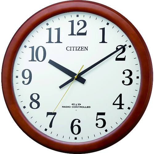 CITIZEN(シチズン) 大型電波掛時計 8MY548-006