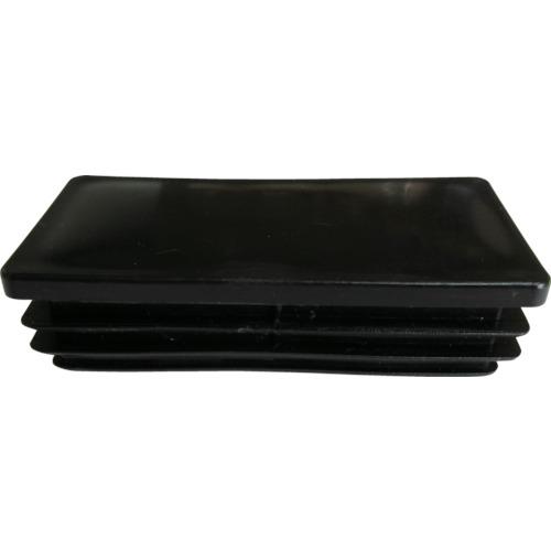 ALINCO(アルインコ) 樹脂キャップ 平角パイプ50X30用 ブラック  4個入 AC323K4