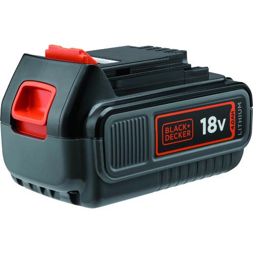 BLACK&DECKER(ブラック&デッカー) 18V 4.0Ah リチウムイオンバッテリーパック BL4018-JP