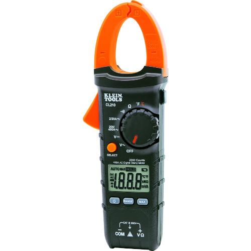 KLEIN(クライン) デジタルクランプメーター 交流電流測定用 CL210A