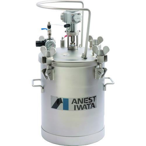 【直送】【代引不可】アネスト岩田 加圧タンク(ステンレス製、自動撹拌式) 20リットル COT-20BM