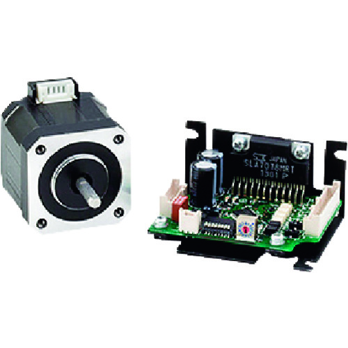 シナノケンシ 標準小型マイクロステップドライバ&ステッピングモータ 取付サイズ□28mm CSB-UK28DA1