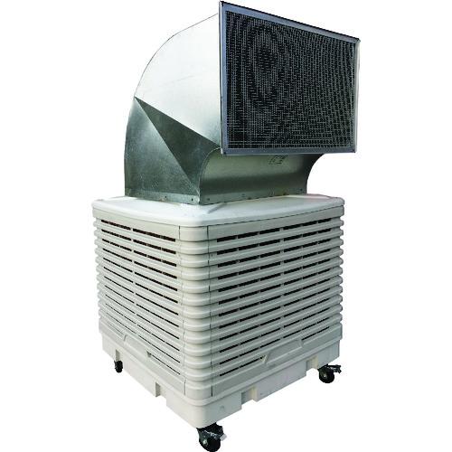 【直送】【代引不可】アースブロー ダクト付大型気化式冷風機 EA-DTC300D1