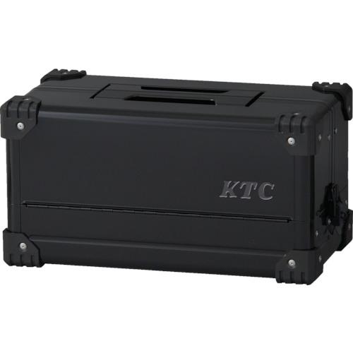 KTC(京都機械工具) 両開きメタルケース(ブラック) EK-10AGBK