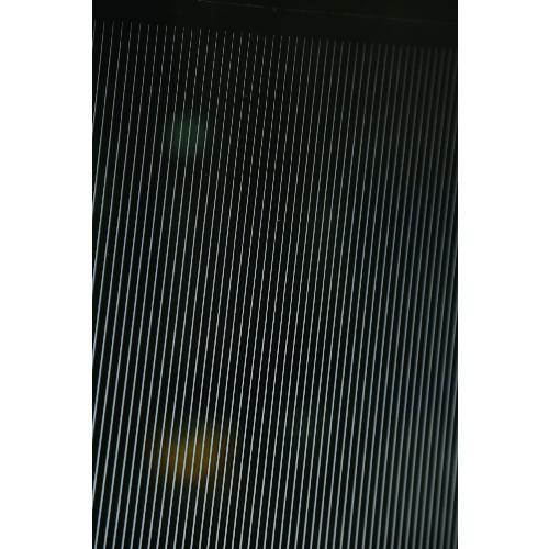 直送 代引不可 発売モデル TRUSCO トラスコ ガラス飛散防止 HSGS-B-12501 斜線柄 幅1250mmX長サ1m 全国一律送料無料 目隠シグラデーションシート