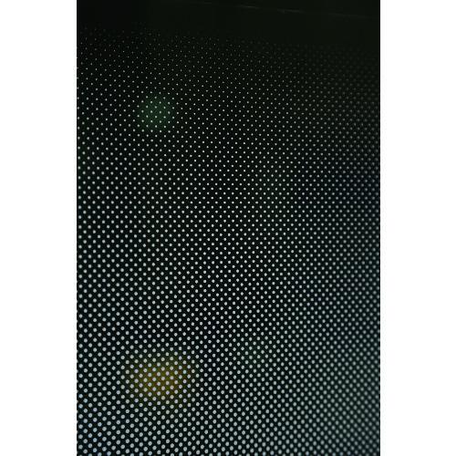 直送 爆買い送料無料 代引不可 TRUSCO トラスコ ガラス飛散防止 ドット柄 信用 目隠シグラデーションシート 幅1250mmX長サ1m HSGS-D-12501
