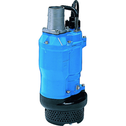 直送 代引不可 ツルミポンプ 一般工事排水用水中ポンプ 50HZ 口径80mm 三相200V KTZ33.7-53 50HZ ハロウィン 就職祝 音楽会