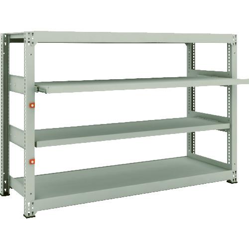 高い品質 スライド2段 1800X571XH1200 店 【直送】【】TRUSCO(トラスコ) 2段 M3型中量棚 M3-4662M2:工具屋のプロ 単体-DIY・工具