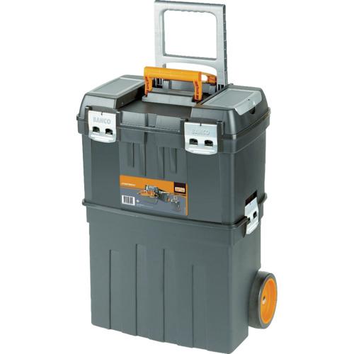 BAHCO(バーコ) ヘビーデューティー仕様キャスター付プラスチックボックス 470X290XH630mm 4750PTBW47