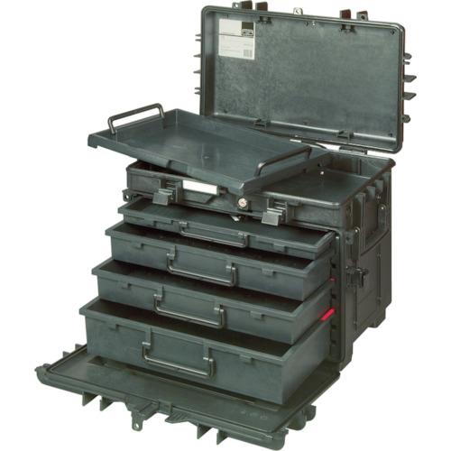 【直送】【代引不可】BAHCO(バーコ) 4段式リジットキャスターケース 4750RCWD4