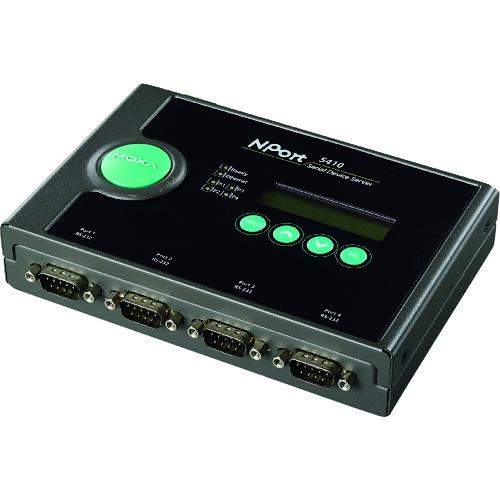 MOXA シリアルデバイスサーバ NPORT 5410/JP
